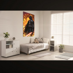 Lord Vader w ogniu